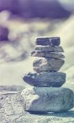 Superimposed stone
