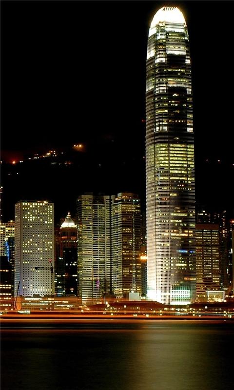 Hong Kong Victoria Harbour Windows Phone Wallpaper