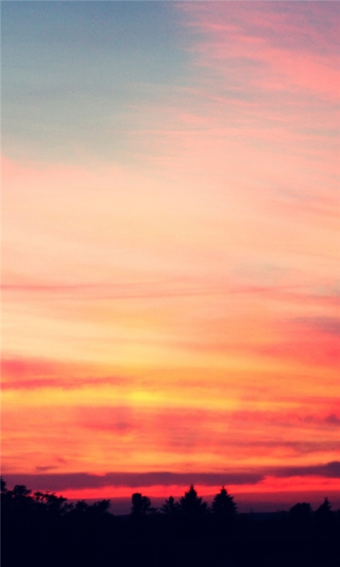 Sunset 16 Windows Phone Wallpaper