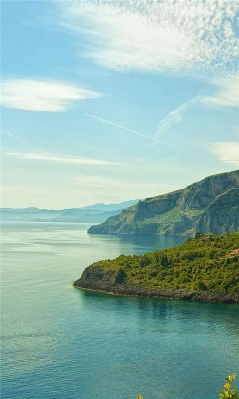 Italy Coast Windows Phone Wallpaper
