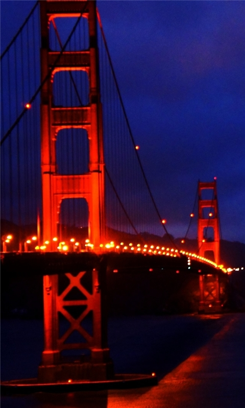 Golden Gate Bridge 3 Windows Phone Wallpaper