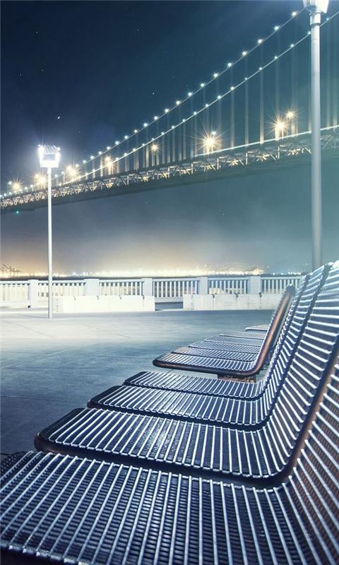 Bridge lounge chair Windows Phone Wallpaper