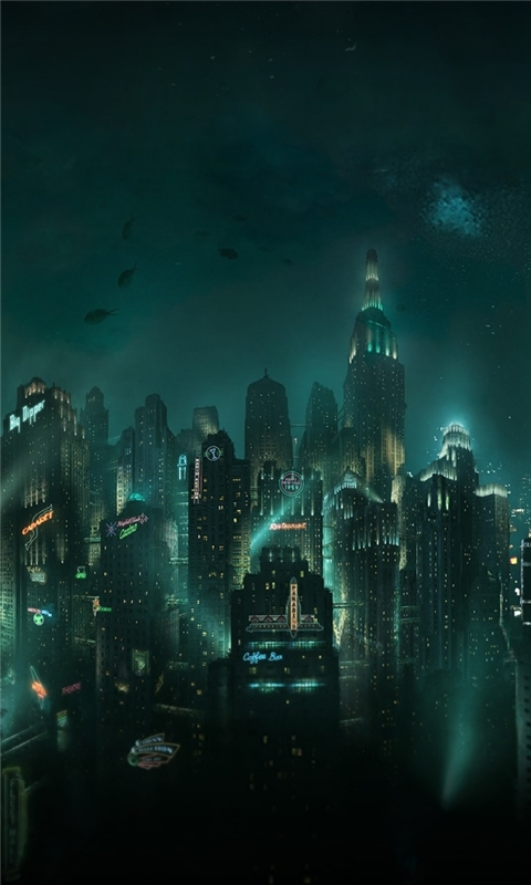 Bioshock Rapture Windows Phone Wallpaper