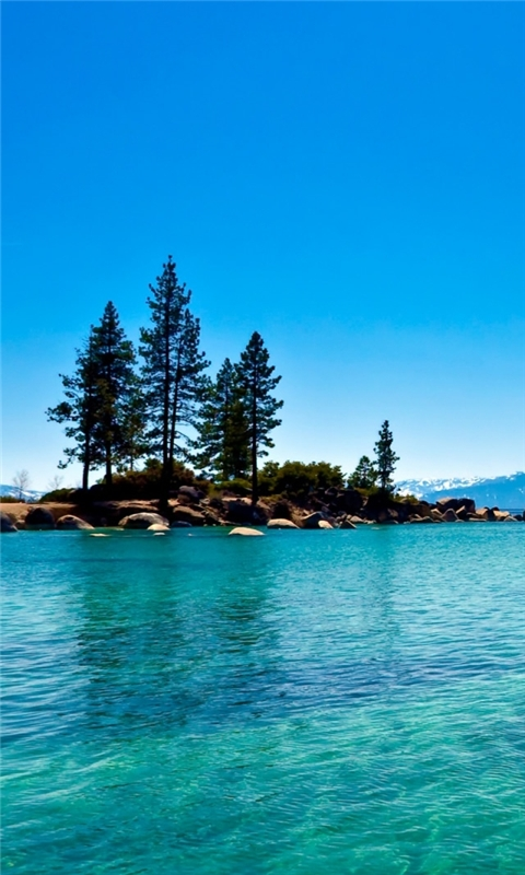 Lake Tahoe California Windows Phone Wallpaper