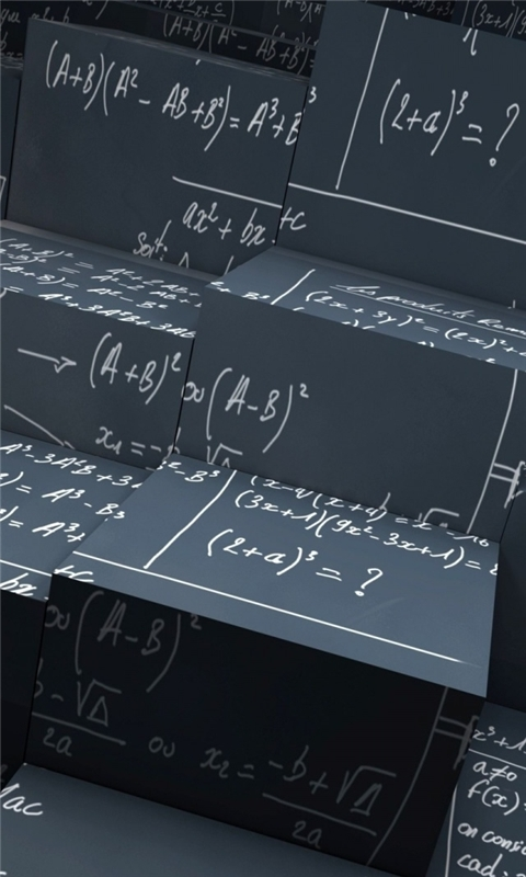 Math Equations Windows Phone Wallpaper