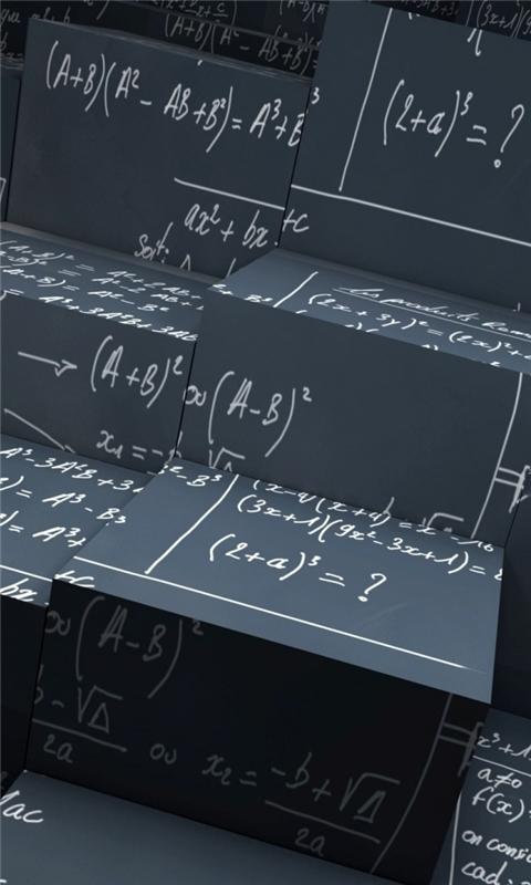 Math Equations Windows Phone Wallpaper