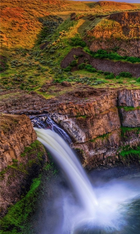 Palouse Falls Windows Phone Wallpaper