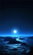 Sea the moon