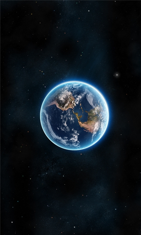 Earth Planet Windows Phone Wallpaper