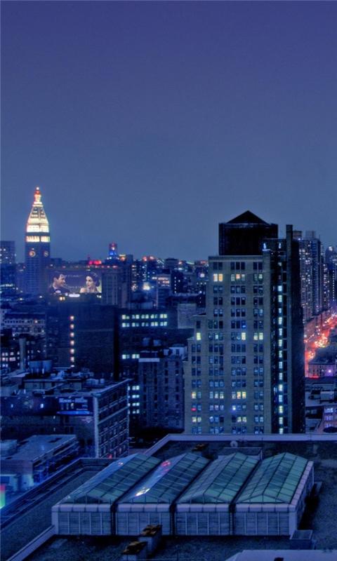Manhattan New York City Windows Phone Wallpaper