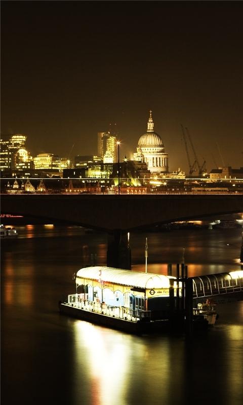 London Lights Windows Phone Wallpaper