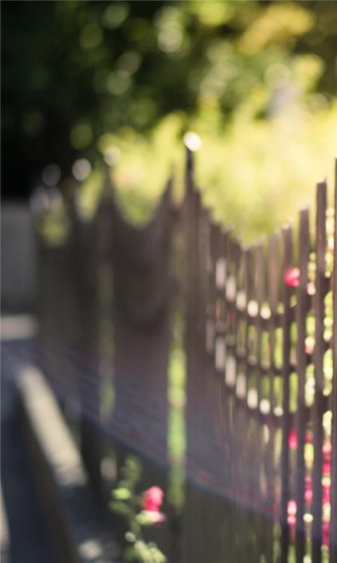 Metal Fence Windows Phone Wallpaper