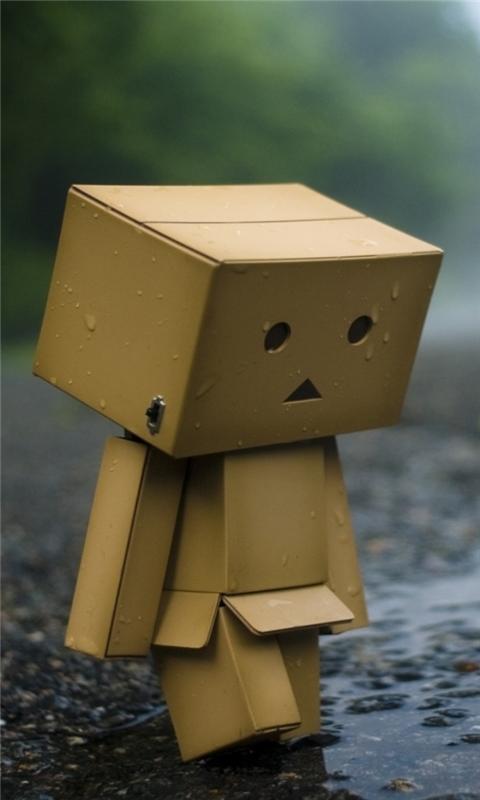 Sad Robot Windows Phone Wallpaper