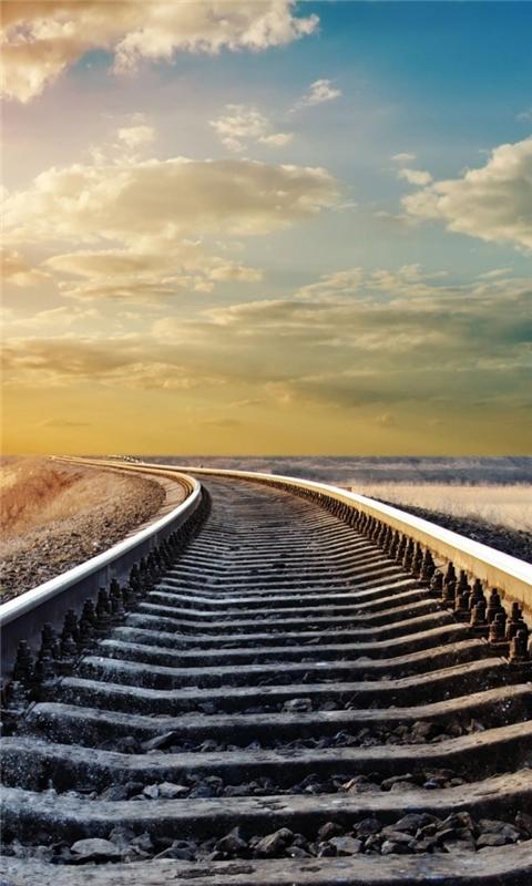 Rail Road Windows Phone Wallpaper