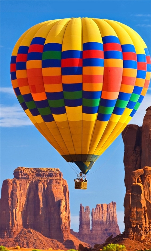 The love of the hot air balloon Windows Phone Wallpaper
