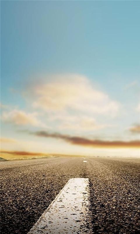 Nature Horizon Roads Windows Phone Wallpaper