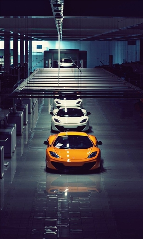 McLaren MP4-12C Windows Phone Wallpaper