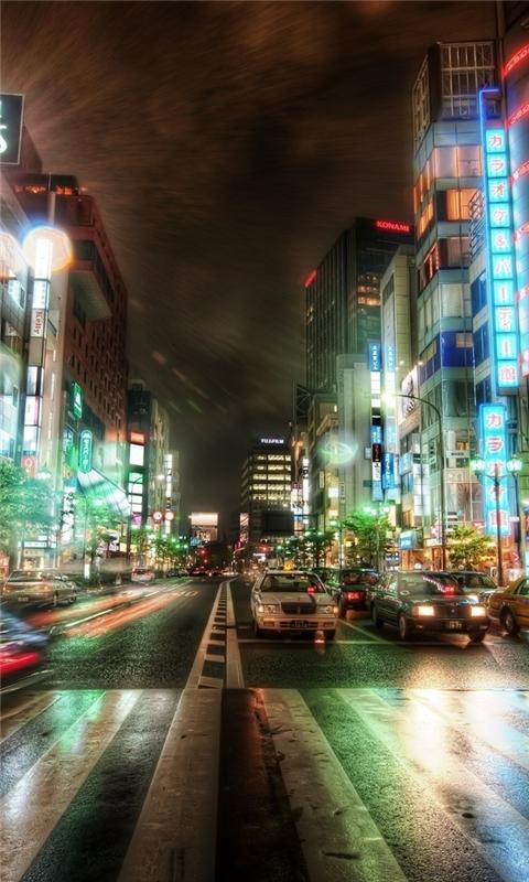 Tokyo HDR Windows Phone Wallpaper