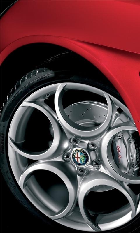 Alfa Romeo 8c Competizione 8 Windows Phone Wallpaper