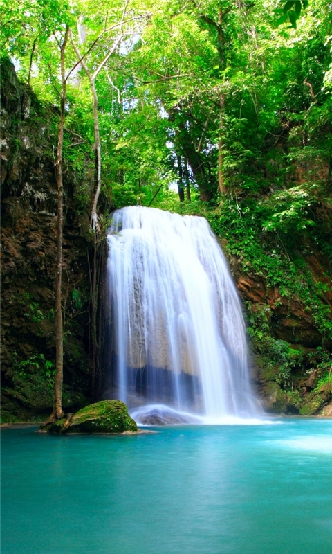 Beautiful Waterfall Windows Phone Wallpaper