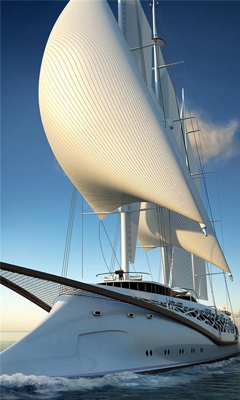 Luxury Yacht Windows Phone Wallpaper