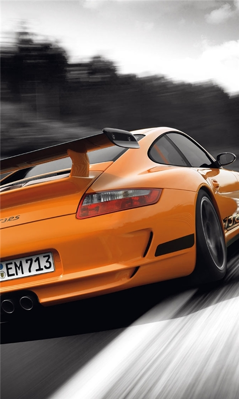 Porsche 911 GT3 Windows Phone Wallpaper