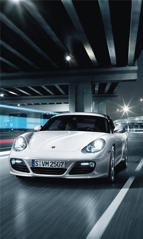 Porsche Cayman Cars Windows Phone Wallpaper Freewpwallpapers