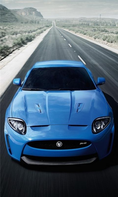 Jaguar xk r 2012 Windows Phone Wallpaper