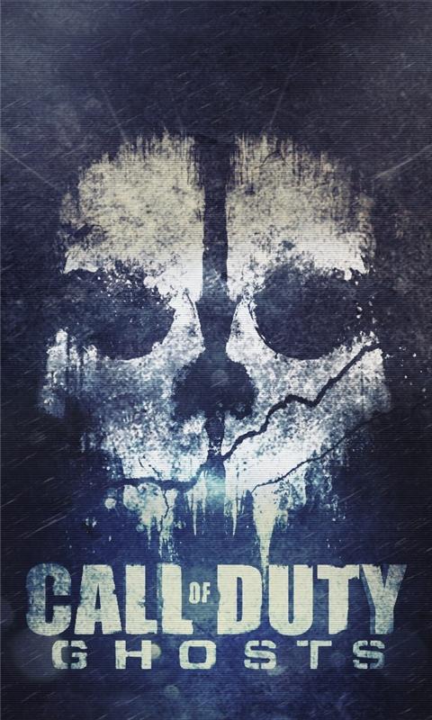 Cod ghosts skull Windows Phone Wallpaper