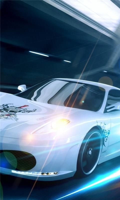Fast Car Windows Phone Wallpaper