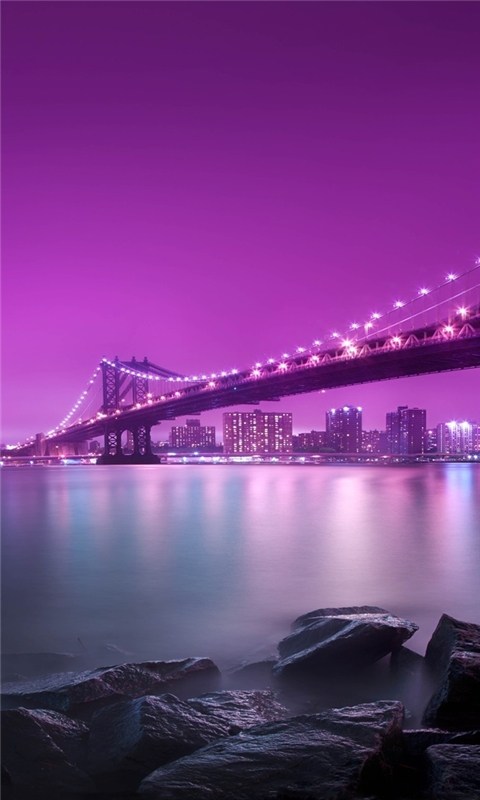 Manhattan Brooklyn Windows Phone Wallpaper