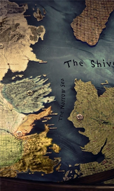 Westeros map Windows Phone Wallpaper