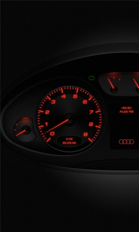 Audi R8 Windows Phone Wallpaper