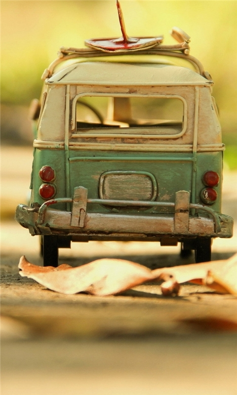 Vintage Volkswagen Toy Windows Phone Wallpaper