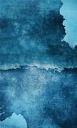 Blue Art Wall