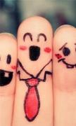 Humor Friends Fingers