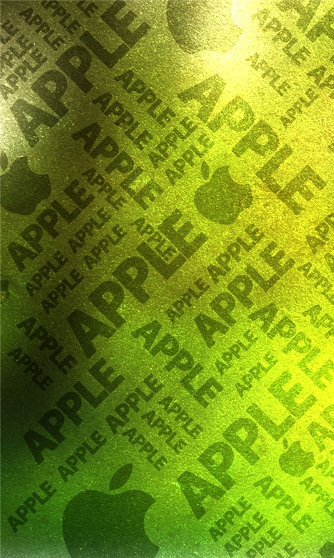 Green Apple Background Windows Phone Wallpaper