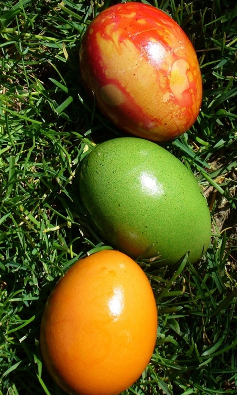 three easter eggs Windows Phone Wallpaper