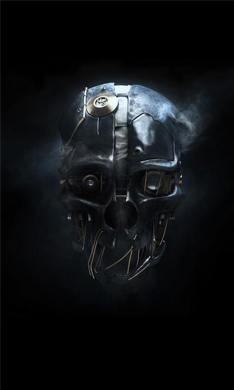 dishonored mask Windows Phone Wallpaper