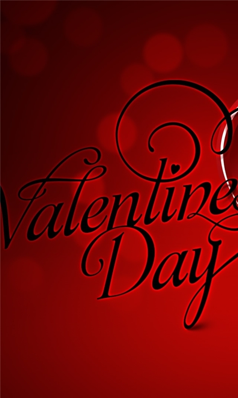 Happy Valentines Day Special Windows Phone Wallpaper