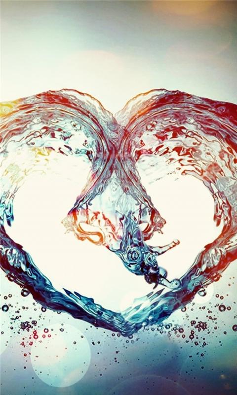 Love Symbol Windows Phone Wallpaper