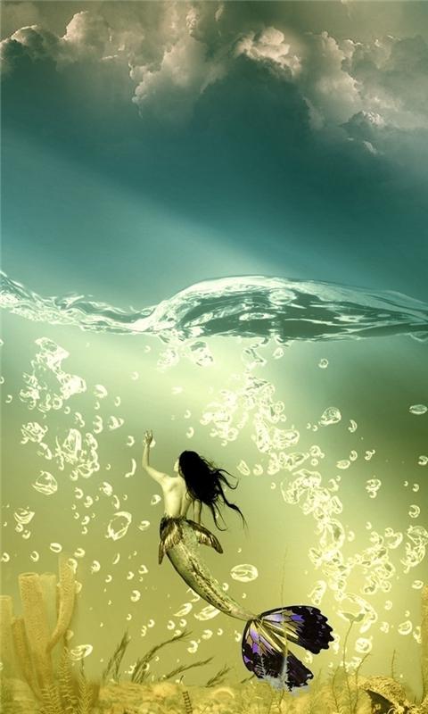 Mermaid Windows Phone Wallpaper