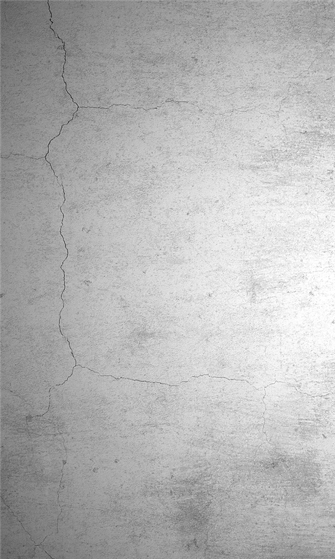 Fissure on White Wall Windows Phone Wallpaper