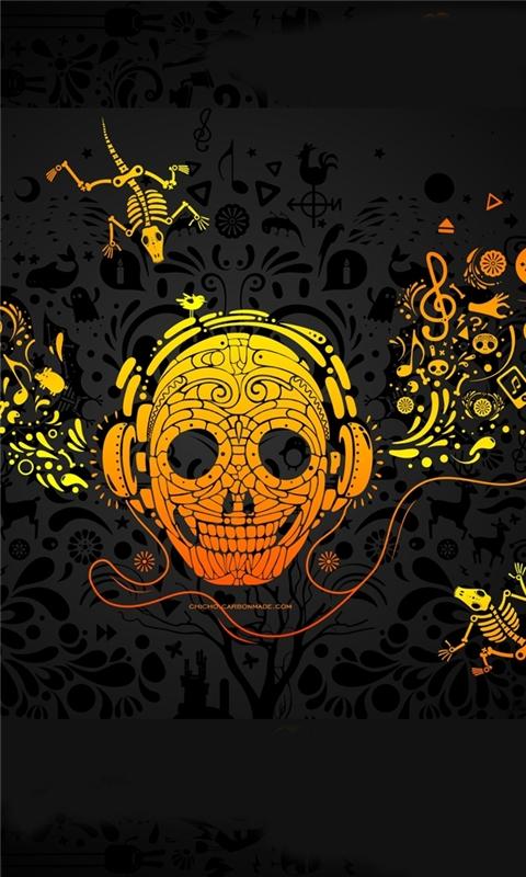 Crazy Music Windows Phone Wallpaper