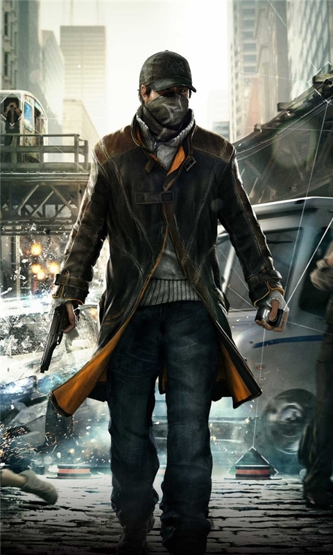 Watch Dogs Video Game Windows Phone Wallpaper