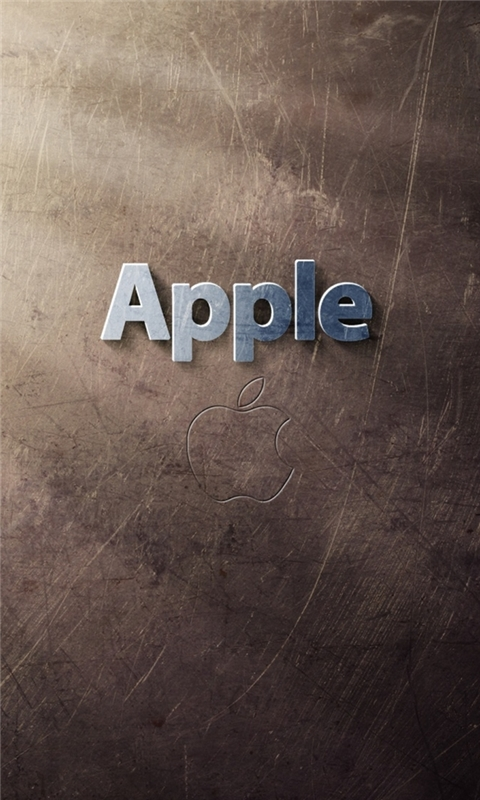 Apple Logo Art Windows Phone Wallpaper