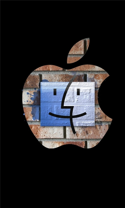 Apple art Windows Phone Wallpaper