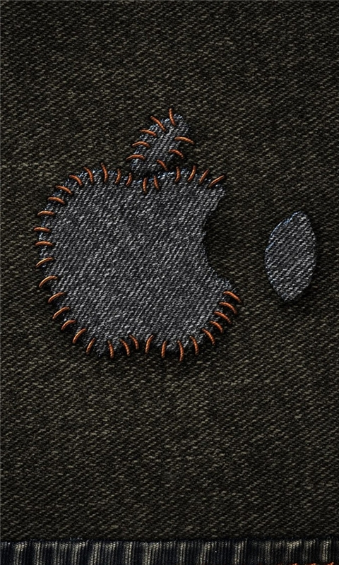 Jeans Apple Logo Windows Phone Wallpaper