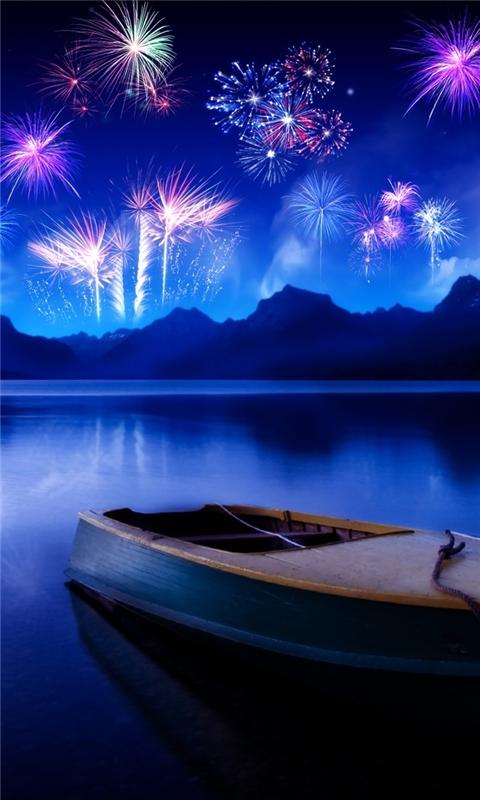 Celebrate new years eve Windows Phone Wallpaper