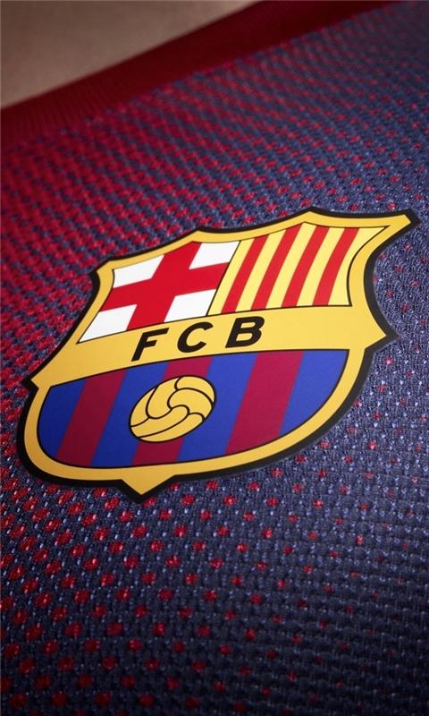 FCB Tshirt Windows Phone Wallpaper